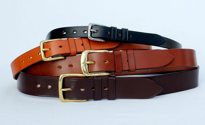 Handmade Sedgwicks leather belts