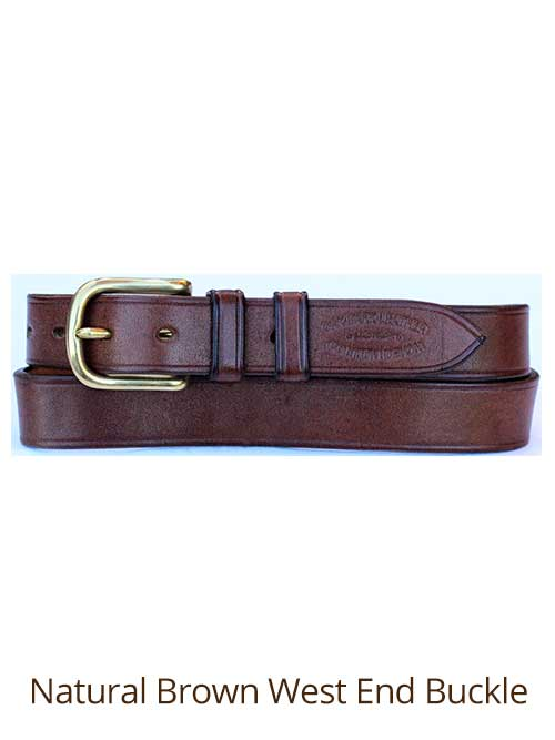 1 quot bridle handmade leather belt bespoke belt made to
