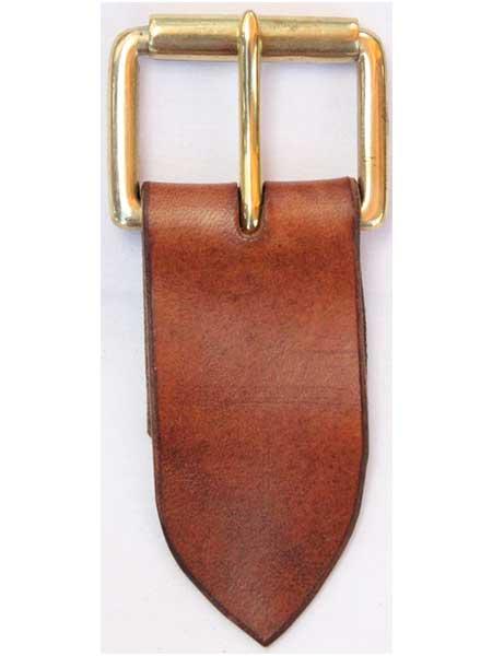"Brass Standard Roller Buckle for 1¾"" inch handmade leather belt"