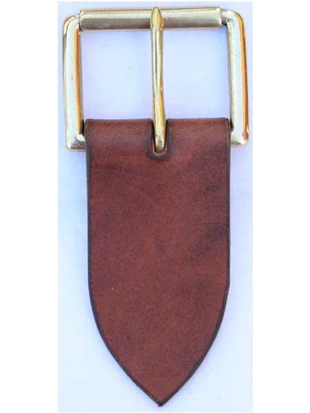 "Nickel Standard Roller Buckle for 2"" inch handmade leather belt"