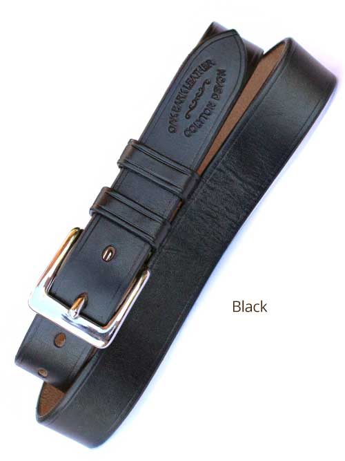 "1¼"" Bridle Handmade leather Belt"