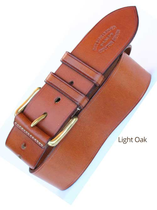 "2"" Bridle Handmade Leather Belt"