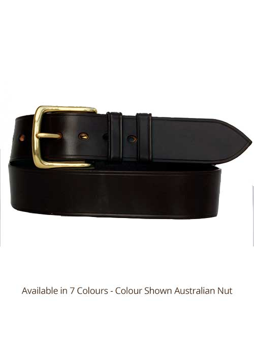 Sedgwicks Leather Belt Handmade - Australian Nut